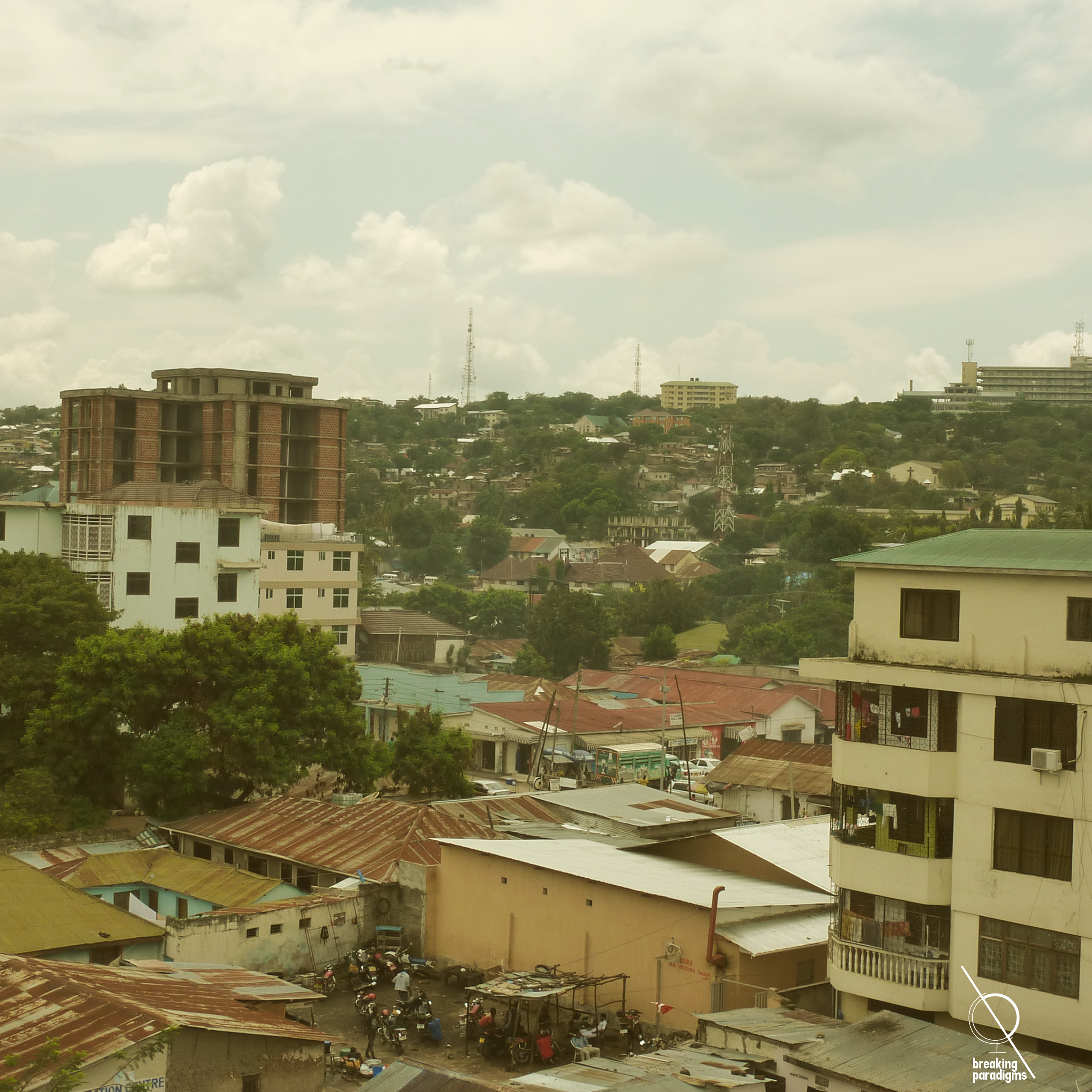 city view of Mwanza