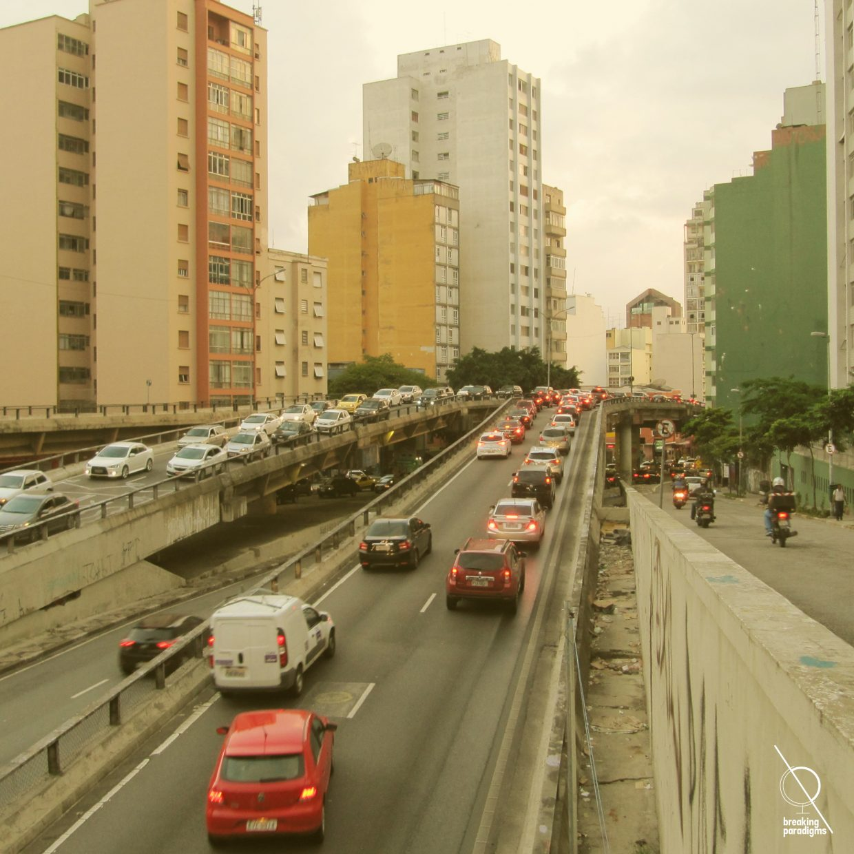 road in sao paolo