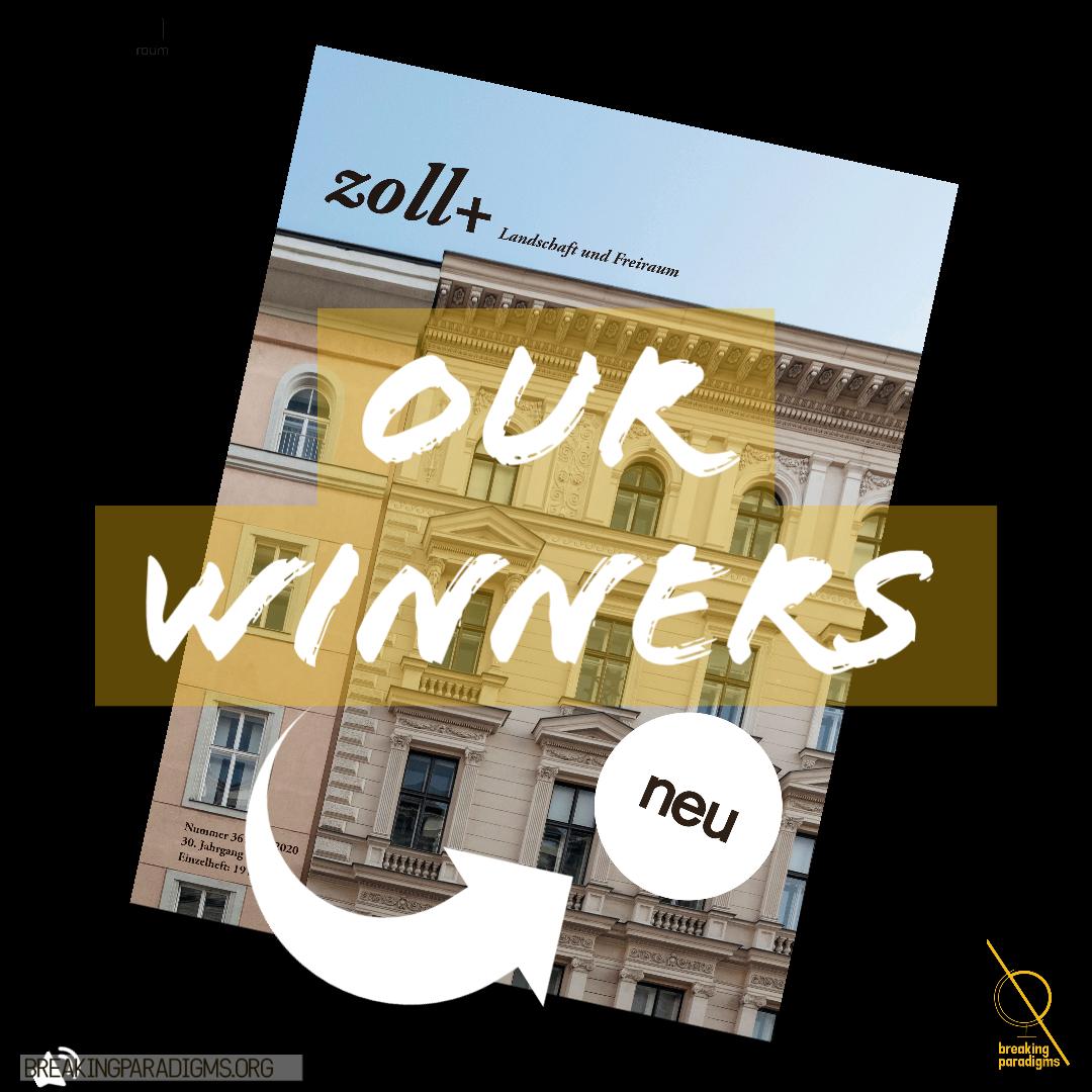 winners of the zoll+ magazine
